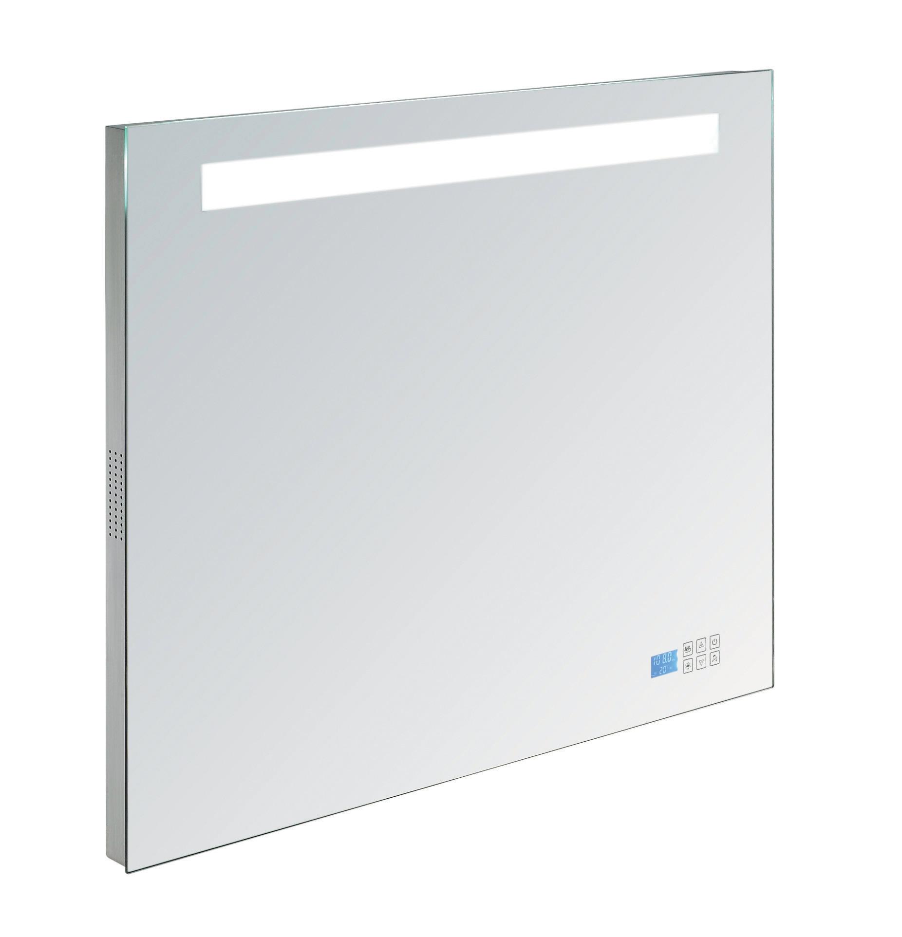 Interessant Badkamer spiegel B.80 x H.70 x D.4,5 cm TL verlichting, inclusief  TI29