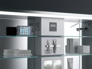 badkameraccessoires: eerste luxe lichtspiegelkast met led, Badkamer