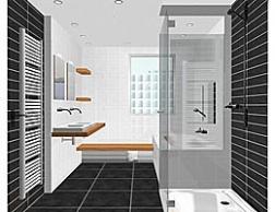 Zelf gratis 3d badkamer ontwerpen op for 3d ruimte ontwerpen