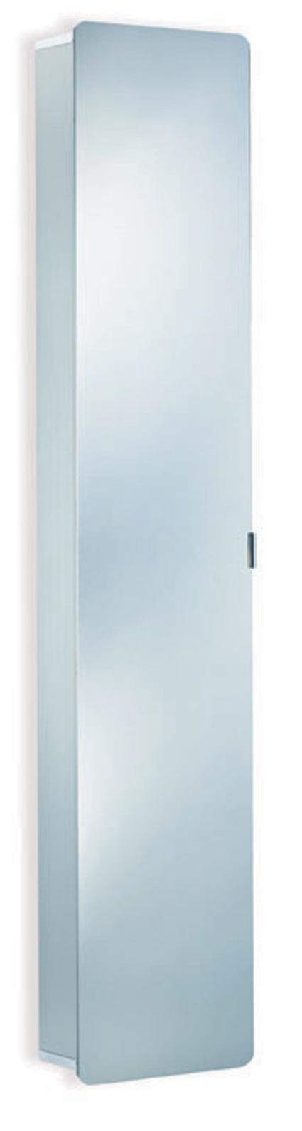HSK ASP Softcube Alu Spiegelkast hoge kast Afmetingen B 35 x H 175 x