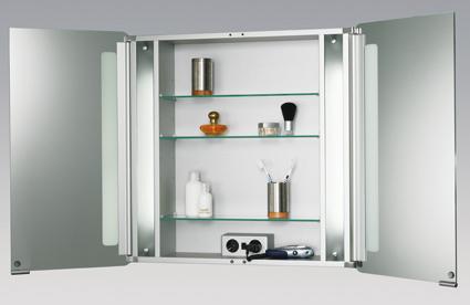 Hoge Spiegelkast Badkamer : Hsk asp softcube hoge aluminium spiegelkast b.35 x h.175 x d.17 cm