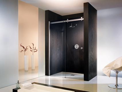 Schuifdeur Voor Badkamer : Hsk atelier nis schuifdeur delig helder mm veiligheidsglas