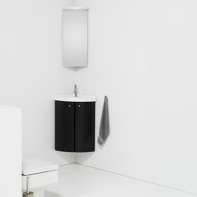 Primabad Toiletmeubel Hoekmodel 37 x 37 x 80 cm