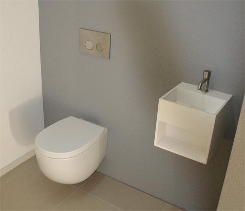 Nic Design MILK Serie, toilet in het mat wit
