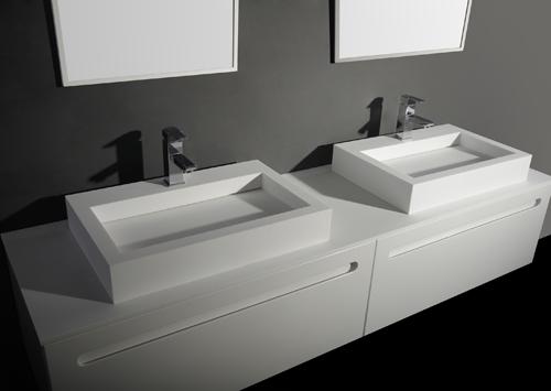 Quick Step Voor Badkamer ~ Solid Surface Design Wastafels Manya S Afmeting B 60 x D 40 x H 10 cm