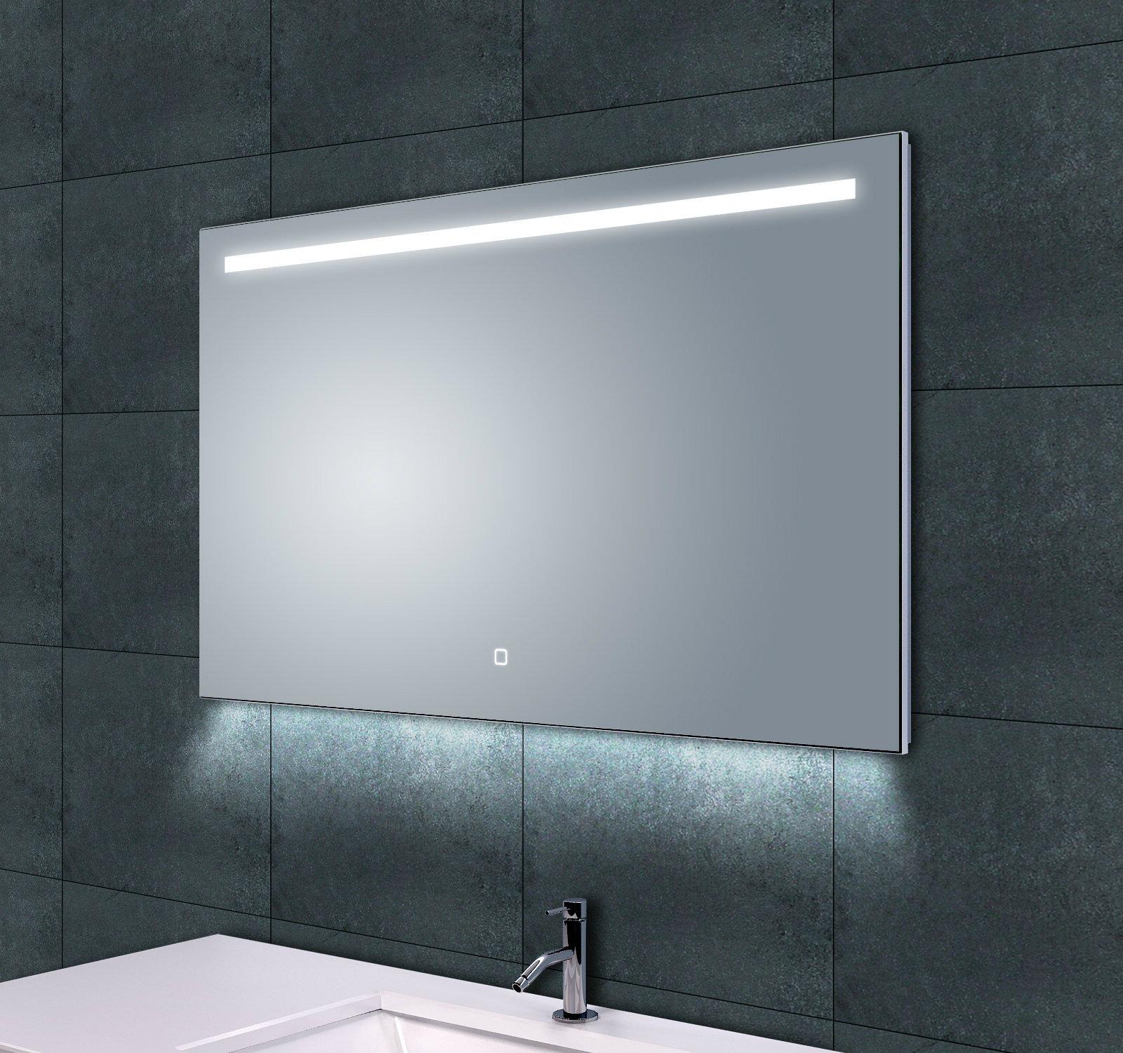 arcon dimbare badkamerspiegel x cm met led verlichting. Black Bedroom Furniture Sets. Home Design Ideas