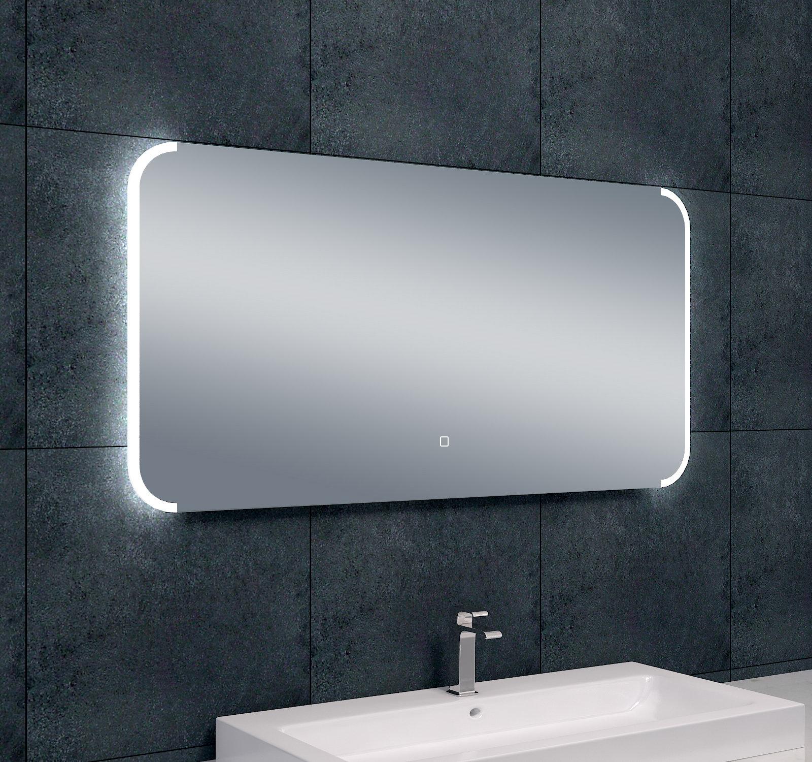 Arcon Dimbare LED Badkamerspiegel B.120 x H.60 cm