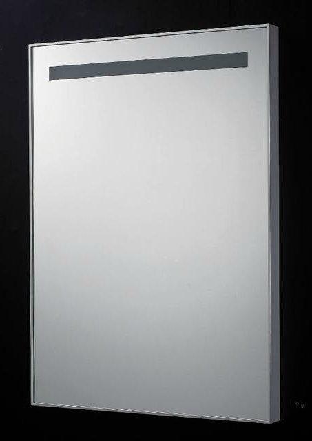 Badkamer spiegel B.58 x H.80 x D.4,5 cm met TL verlichting