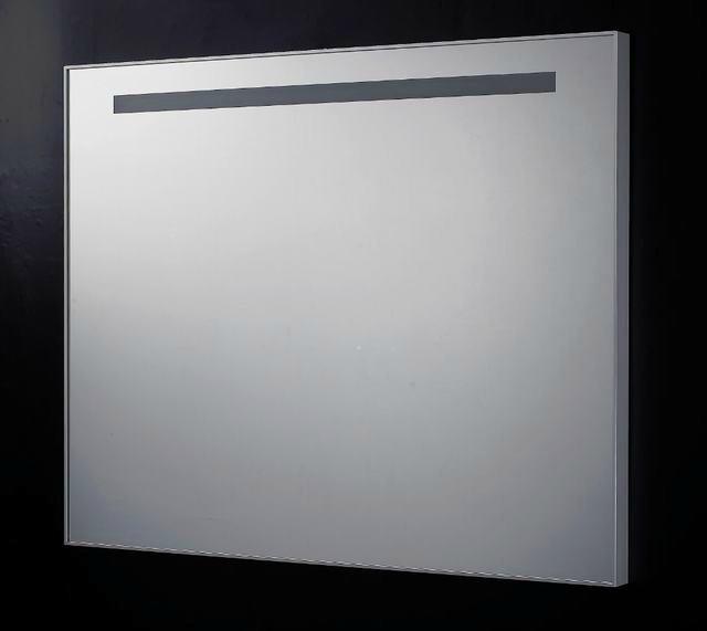 Badkamer spiegel B.120 x H.80 x D.4,5 cm met TL verlichting