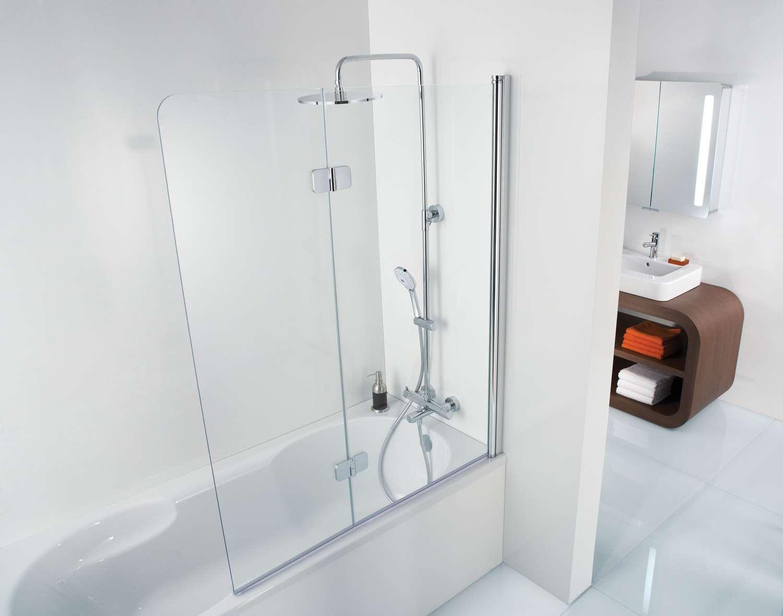 Badwanden 2 Delig.Hsk Premium Softcube Badwand 2 Delig 100 Cm