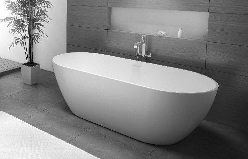 Solid Surface Badkamer : Solid surface solutions vrijstaande baden wastafels maatwerk