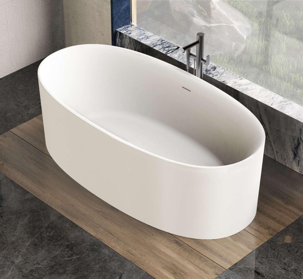 Vrijstaand Bad Mat Wit.Solid Surface Solutions Vrijstaand Bad Kurkowski 175