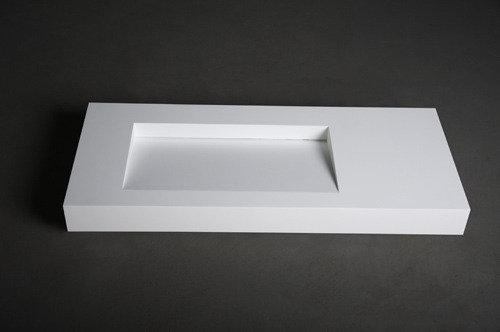 Mineraal Gegoten Wastafel : Solid surface solutions vrijstaande baden wastafels maatwerk