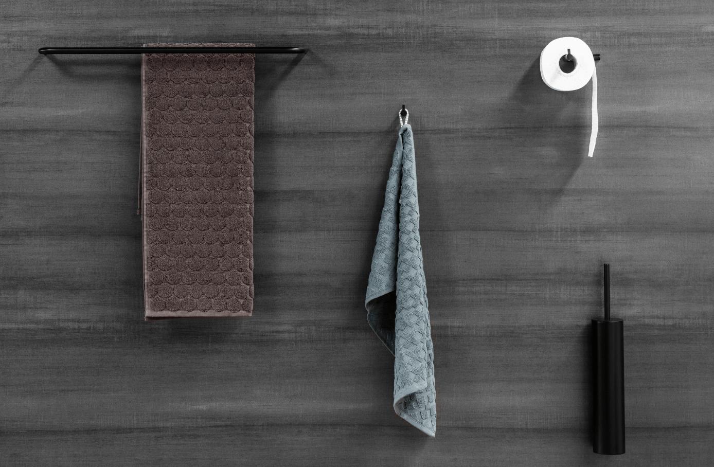 Toilet Accessoires Zwart : Mat zwarte badkameraccessoires een prachtige luxe uitstraling!