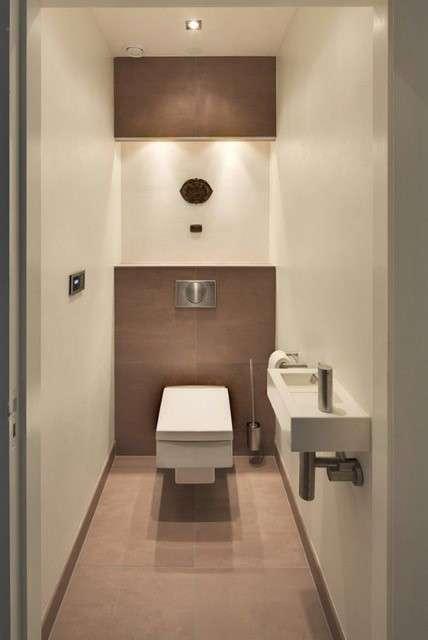 Een klein toilet groots indelen!