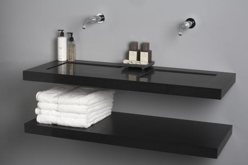 Giquadro design wastafels: Dutch Design uit quartz composiet